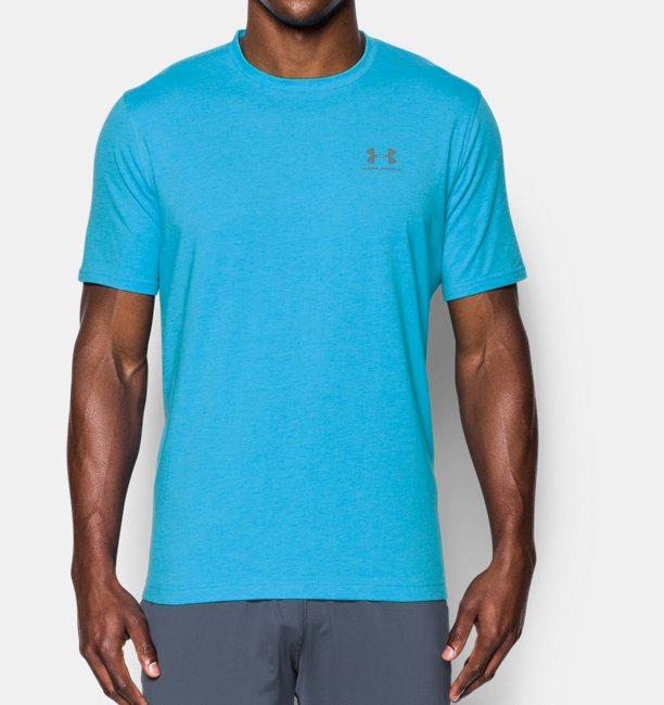 T-shirt UA Sportstyle Left Chest Logo pour homme