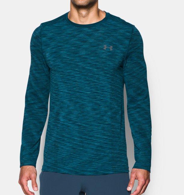 T-Shirt UA Threadborne Seamless à manches longues pour homme
