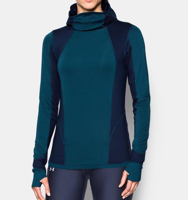 Sweat à capuche ColdGear® Reactor Balaclava pour femme