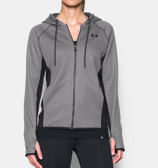 Sweat à capuche UA Storm Armour® Fleece Full Zip pour femme