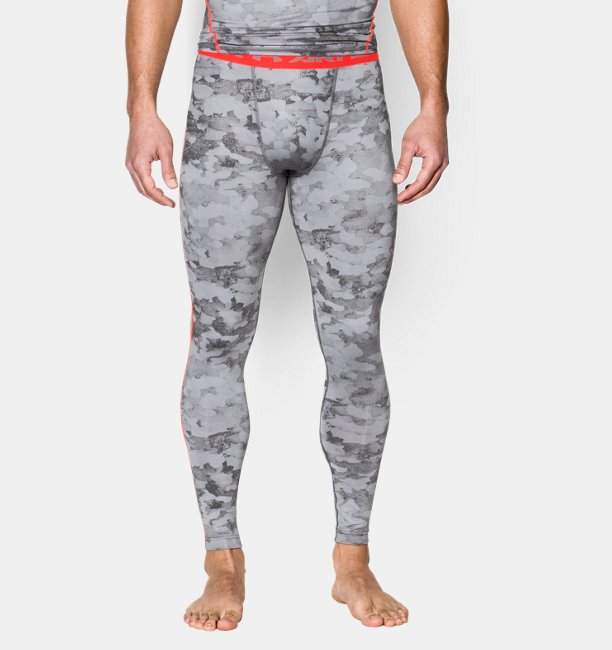 cf342f18146f8 Men's UA HeatGear® Armour Printed Compression Leggings | Under Armour AT
