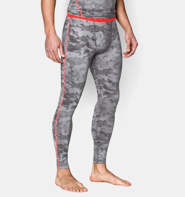 f6636ee844f9d Men's UA HeatGear® Armour Printed Compression Leggings | Under Armour UK