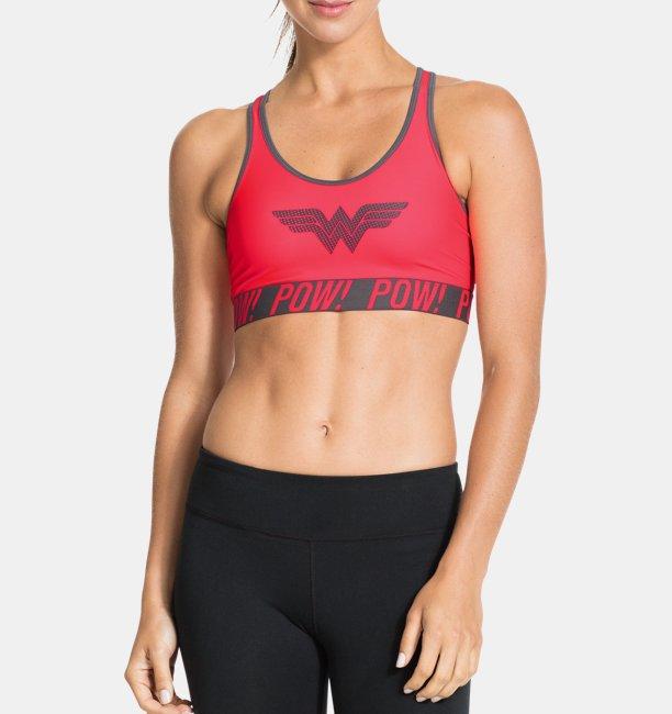 Women s Transform Yourself Pop Art Wonder Woman Sports Bra  568afef2a