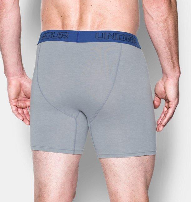 """Erkek Charged Cotton® Stretch 6"""" Boxerjock® – 3lü Paket"""