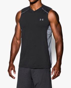 남성 UA 레이드 슬리브리스 티셔츠