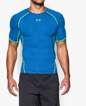 남성 UA HeatGear® 아머 반팔 컴프레션 셔츠