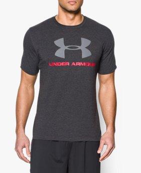 54b803c58f0a3 Camiseta UA Sportstyle con logotipo para hombre