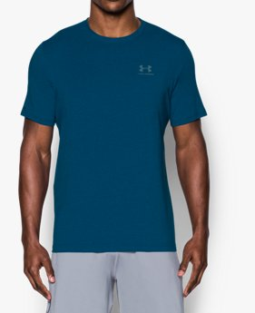 T-shirt UA Charged Cotton® Left Chest Lockup pour homme