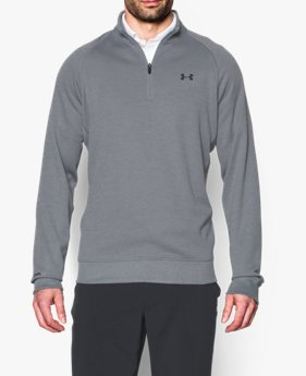 Cierre a ¼ para golf UA Storm Fleece para hombre