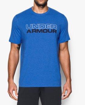 남성 UA 워드마크 티셔츠