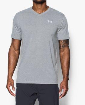 남성 UA Threadborne™ 스트리커 브이넥 티셔츠
