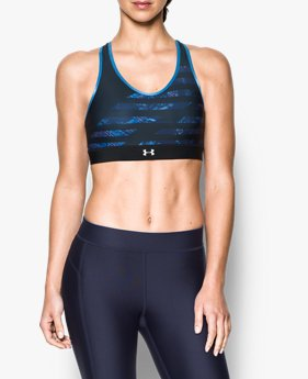 Top UA Armour® Mid Reversible Feminino