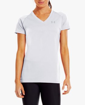 Camiseta UA Tech V-Neck Feminina