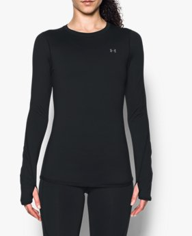 Polera ColdGear® Armour Fitted para Mujer