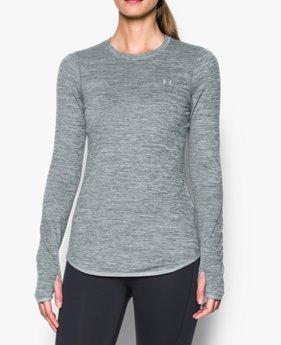 여성 ColdGear® 아머 피티드 크루넥 티셔츠