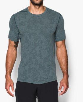 Herren Shirts UA Threadborne™ Elite, enganliegend, kurzärmlig