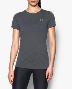 Camiseta UA Threadborne™ Train Slub Feminina