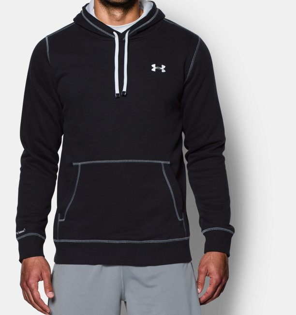 Armour Uomo Con Storm Felpa Rival Cappuccio Fleece Ua It Da Under zgqx1dq