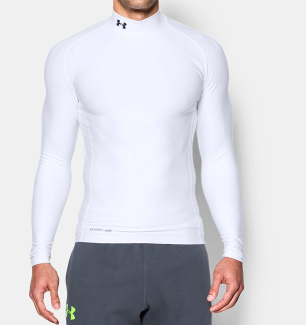 57cae6915 Men's ColdGear® Evo Long Sleeve Compression Mock | Under Armour UK
