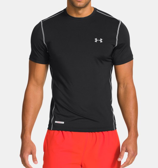 the best attitude 21403 a5429 Mens HeatGear® Sonic Fitted Short Sleeve