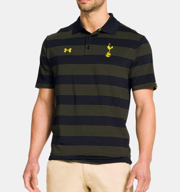 28265db7 Men's Tottenham Hotspur UA Performance Stripe Polo