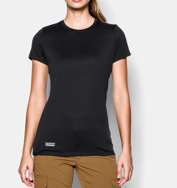4a8244ffb61a92 Damen UA Tech™ Tactical T-Shirt