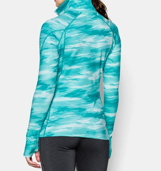 6c56efdcc5 Women's UA ColdGear® Cozy Printed 1/2 Zip