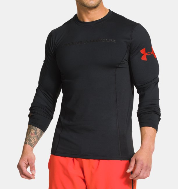 867b9c041 Men's UA Combine® Training ColdGear® Long Sleeve Compression T-Shirt ...