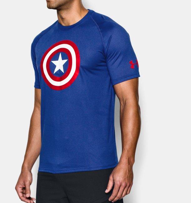 55744547 Men's Under Armour® Alter Ego Captain America T-Shirt