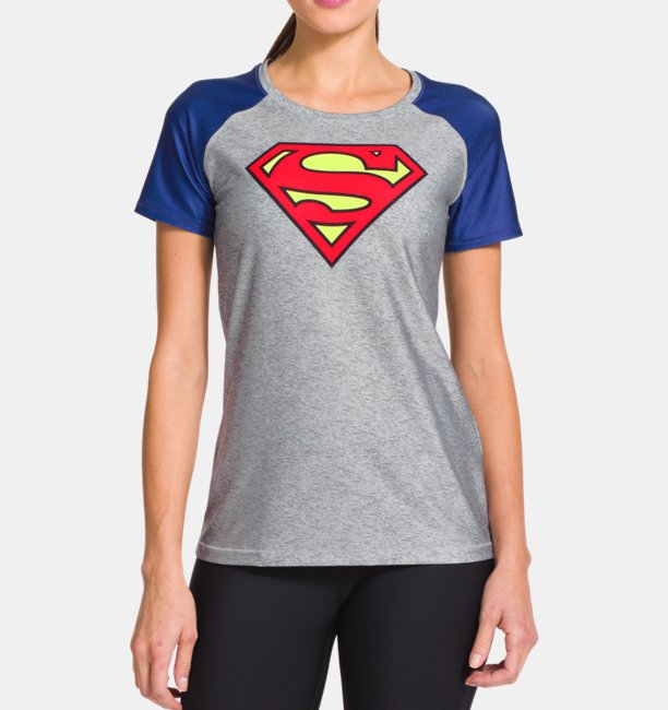 63b0d0c8 Women's Under Armour® Alter Ego HeatGear® Sonic Supergirl T-Shirt ...