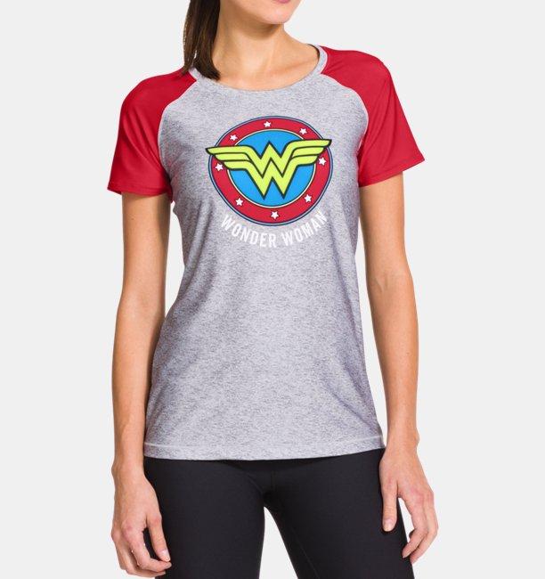da8bc26d Women's Under Armour® Alter Ego HeatGear® Sonic Wonder Woman T-Shirt ...