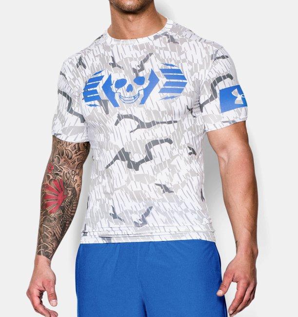 Men s UA Combine® Training Skull Bolt Compression T-Shirt  faad3da14