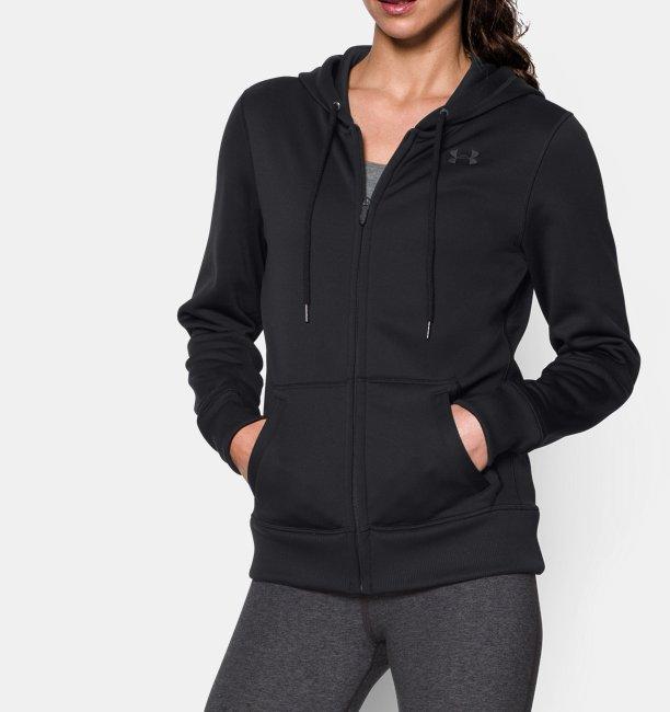 0064c8709 Women's UA Storm Armour® Fleece Big Logo Full Zip Hoodie | Under ...