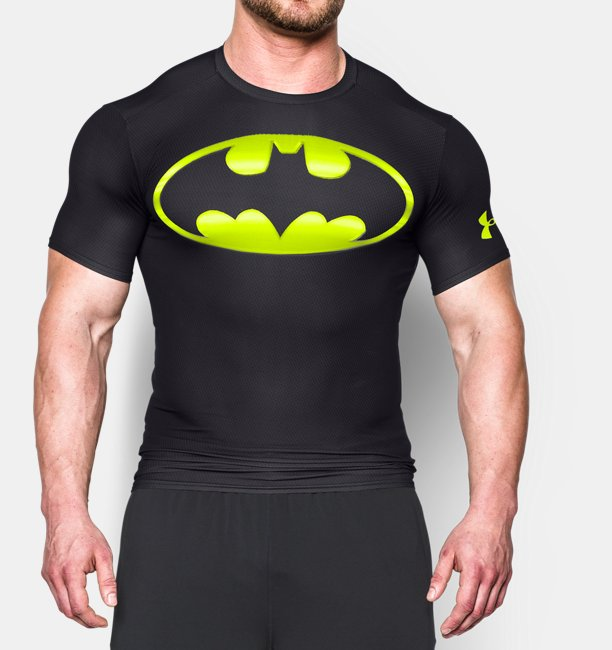 Nye Men's Under Armour® Alter Ego Batman Compression Shirt | Under VB-26