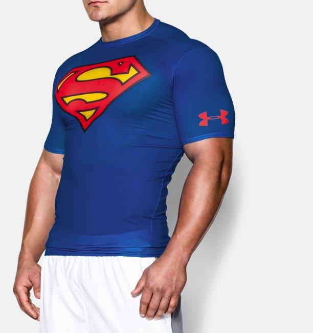 Camiseta de Compressão Masculina de Treino Under Armour Alter Ego