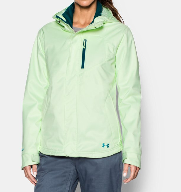 41c3ff5c Women's UA ColdGear® Infrared Sienna 3-In-1 Jacket
