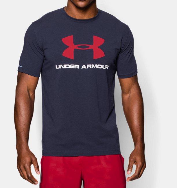 Camiseta UA Sportstyle con logotipo para hombre  44bba22f6a0df