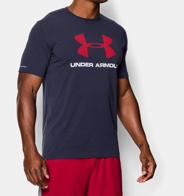 d13d9d8e9863a Camiseta UA Sportstyle con logotipo para hombre
