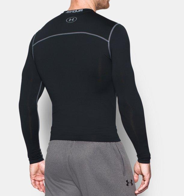 2b4e96eaeda Camiseta de compresión de cuello redondo UA ColdGear® Armour para hombre