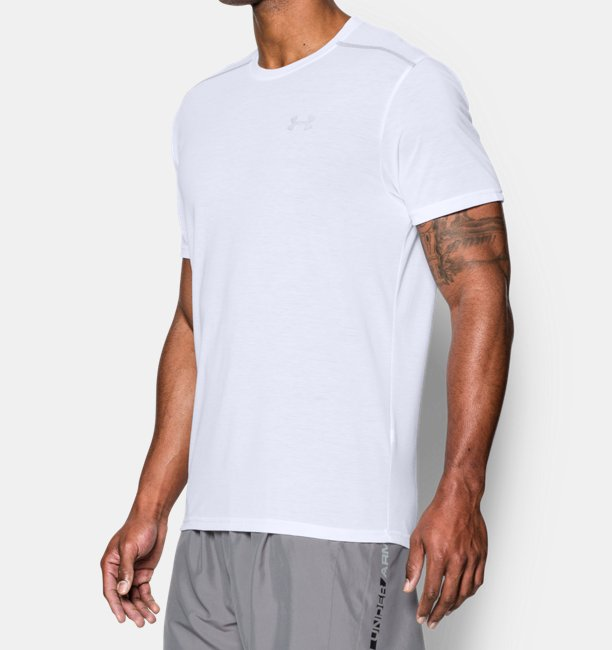 Mens UA Threadborne Streaker Short Sleeve