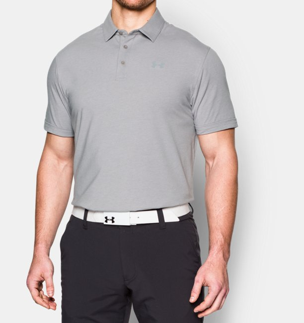 Camisa Polo Charged Cotton® Scramble Masculina