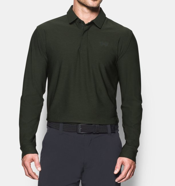 Men's UA Playoff Long Sleeve Polo