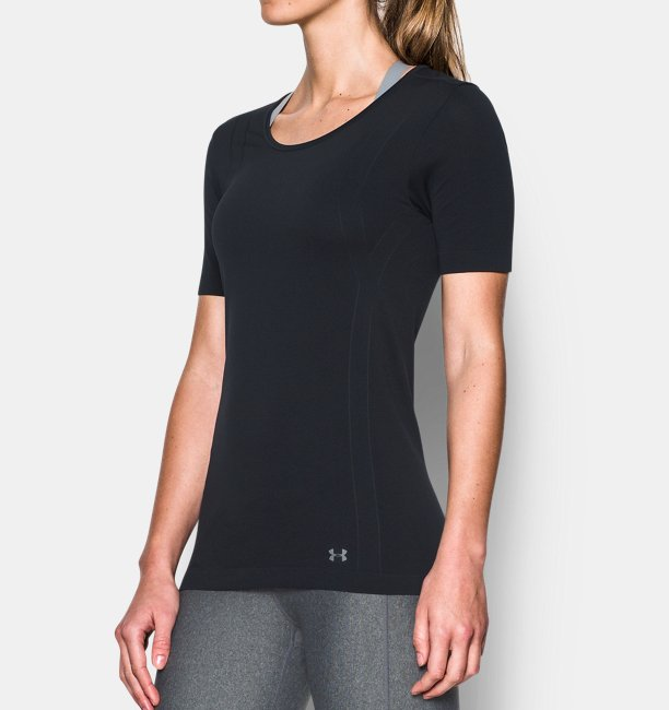 Womens UA Threadborne™ Seamless Short Sleeve