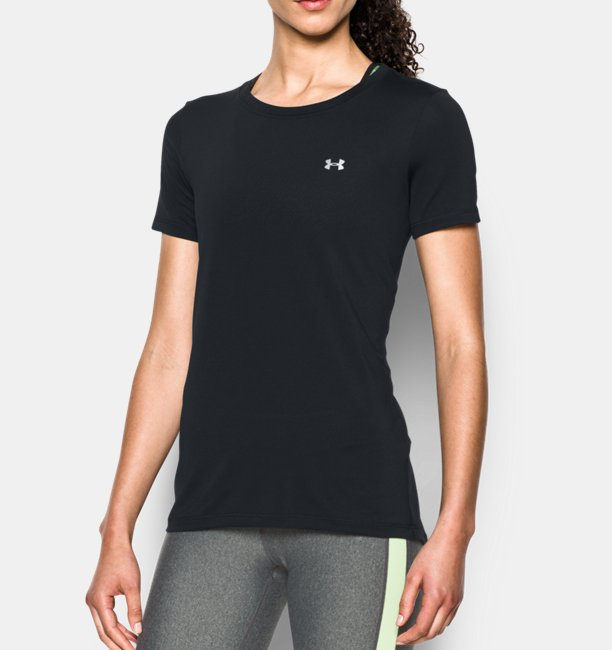 Camiseta UA HeatGear® Armour Feminina