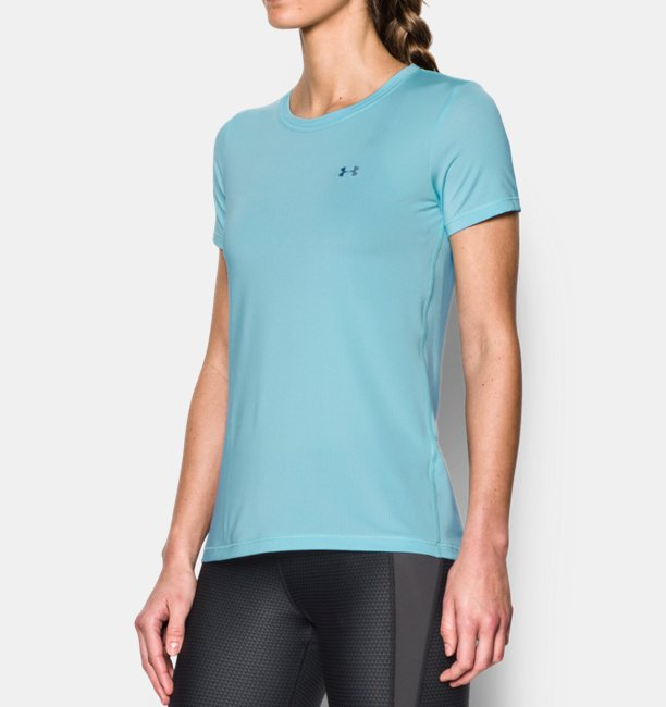 Womens UA HeatGear® Armour Short Sleeve