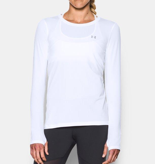 Womens UA HeatGear® Armour Long Sleeve
