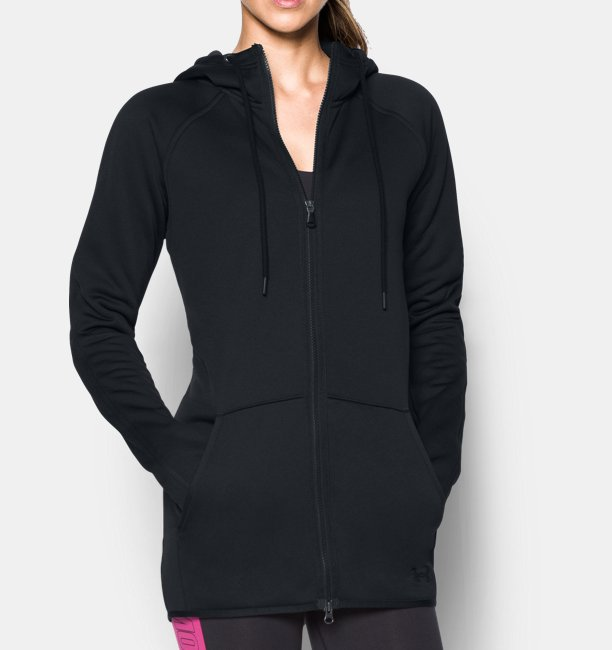 e5bf9787c Women's UA Storm Armour® Fleece Long Full Zip | Under Armour IE