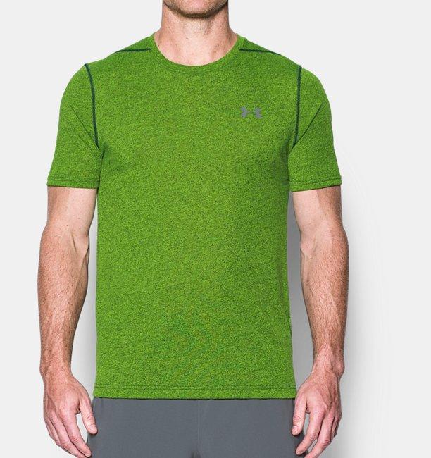 3e03abe23 Men's UA Threadborne Fitted 3C Twist T-Shirt | Under Armour IE