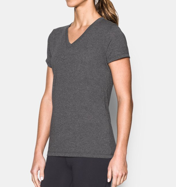 Womens UA Threadborne Train Twist V-Neck