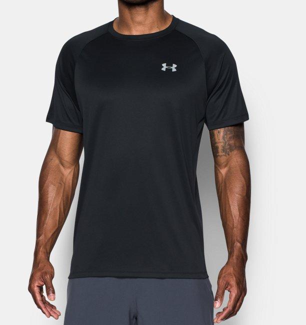 Erkek HeatGear® Kısa Kollu Koşu T-shirt